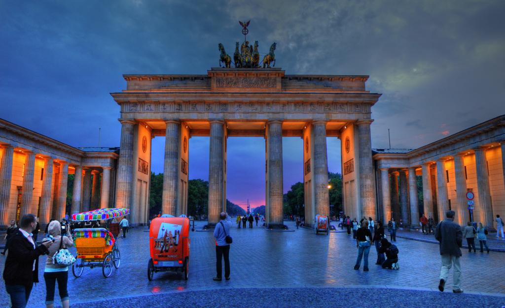 Brandenburg Gate at Twilight