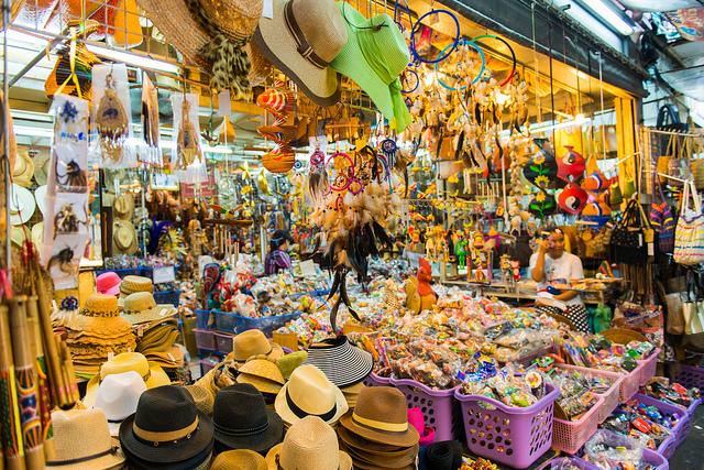 Chatuchak market (also known as Weekend mark)