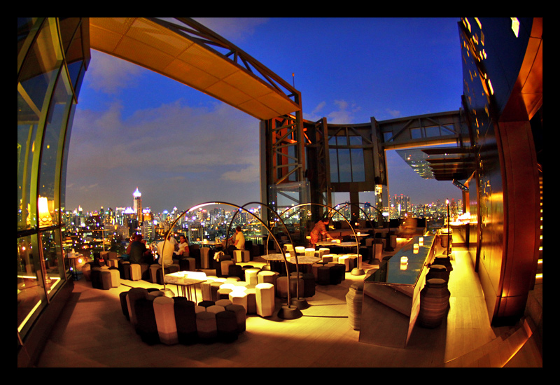 Park Society Rooftop bar bangkok
