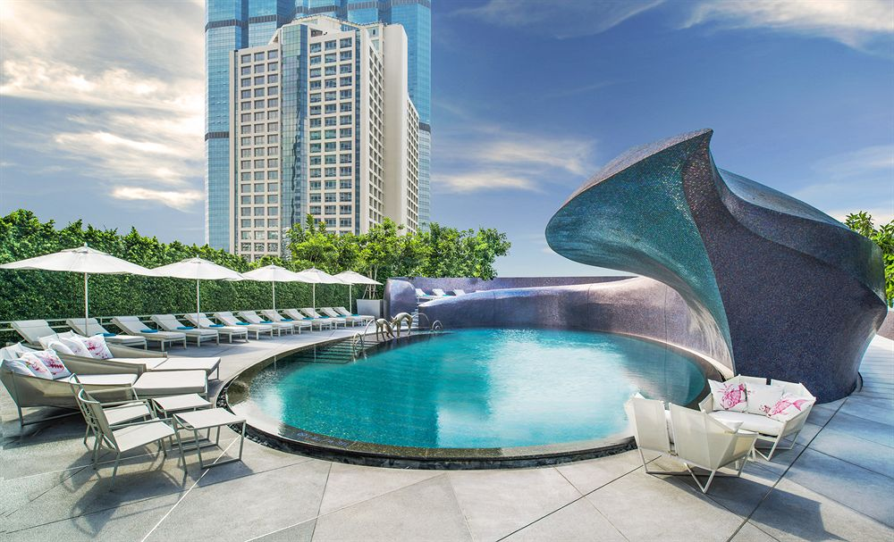 W Bangkok Swimming Pool, Bangkok